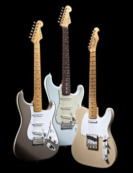 Fender® Classic Series and Road Worn Guitars and Basses