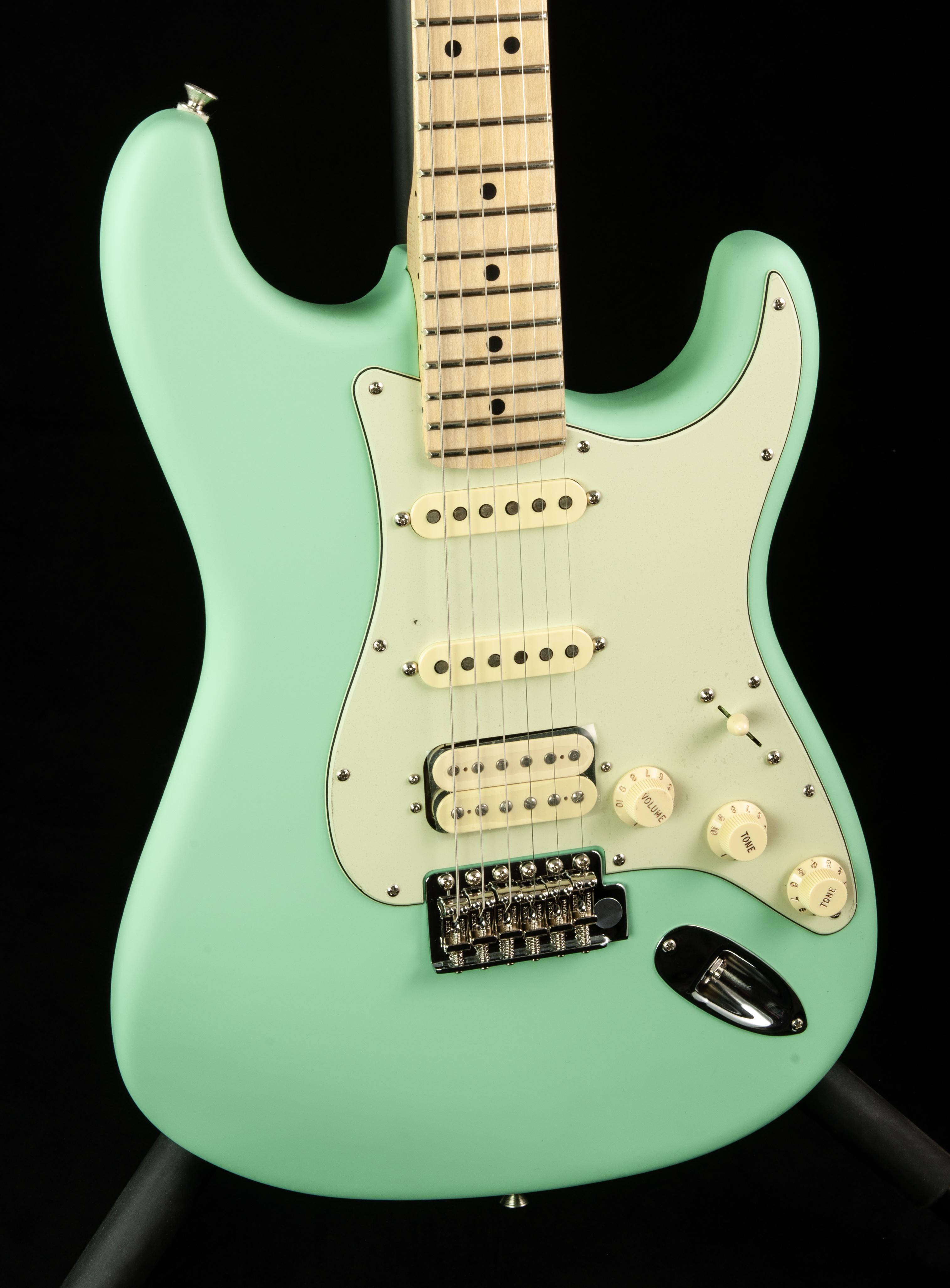 Fender American Performer Stratocaster® HSS, Maple Fingerboard, Satin Surf  Green