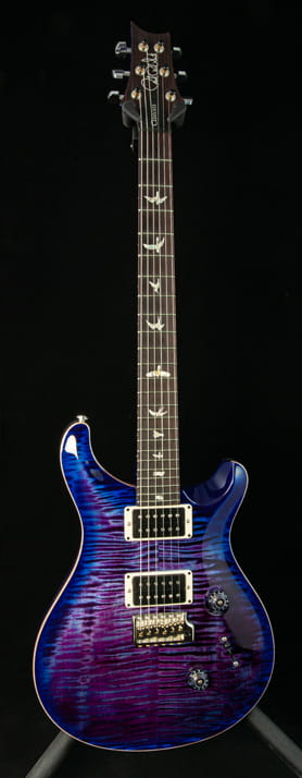PRS Custom 24 in Violet Blue Burst