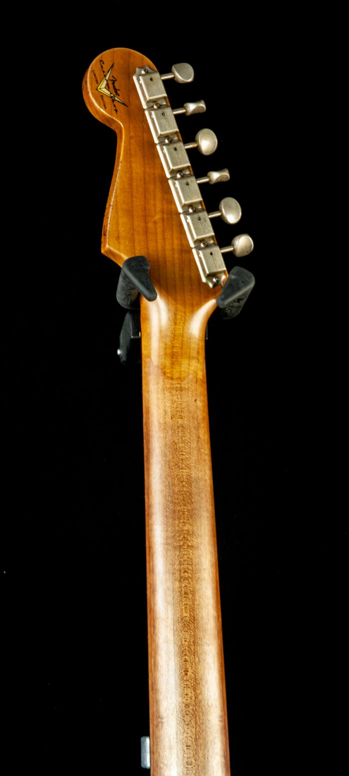 Fender Custom Shop Roasted Poblano Stratocaster Relic Rosewood Fingerboard Limited Edition in Aged Olympic White