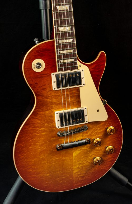 Gibson Custom Shop 60th Anniversary 1960 Les Paul Standard V1 in Antiquity Burst