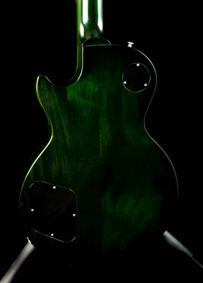 Gibson Nashville Flood Les Paul Studio in Green Swirl, Pre-Owned