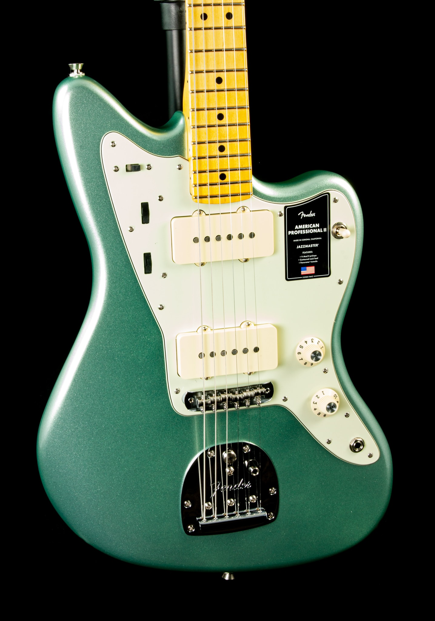 Fender American Professional II Jazzmaster® in Mystic Surf Green
