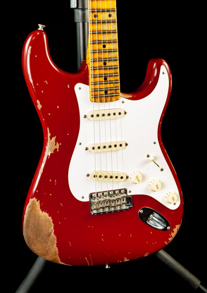 Fender Custom Shop '56 Stratocaster Heavy Relic in Cimarron Red, Pre-Owned