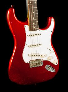 Fender Custom Shop Postmodern Journeyman Relic Stratocaster in Candy Apple Red, Pre-Owned