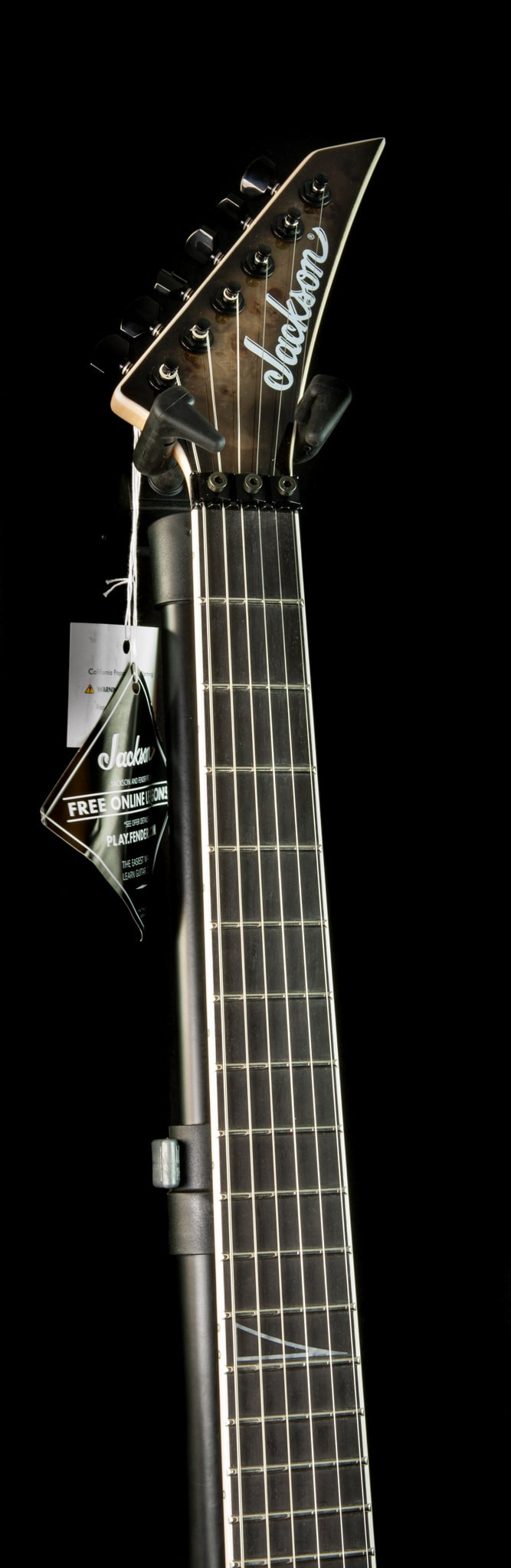 Jackson Limited Edition Wildcard Series Soloist SL2P in Transparent Black Burst