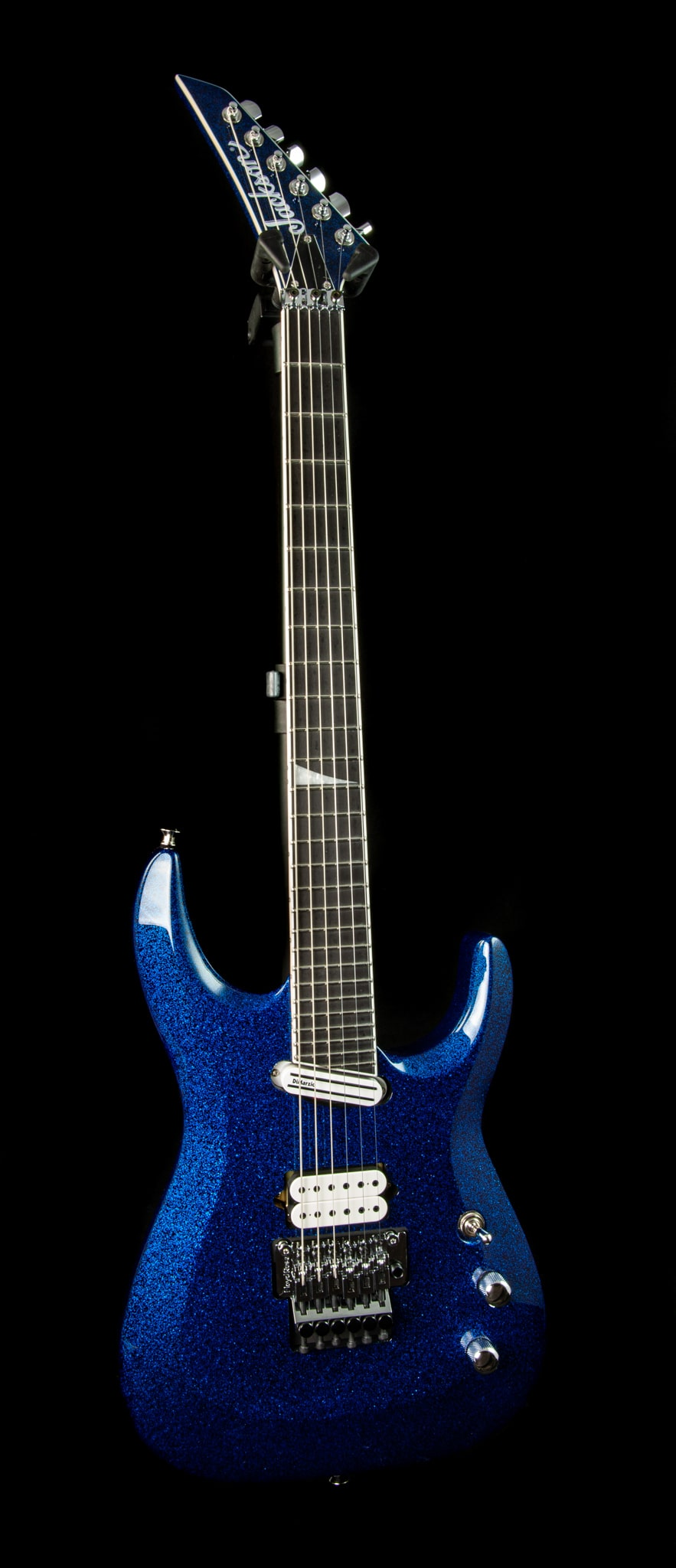 Jackson Limited Edition Wildcard Series Soloist Arch Top Extreme SL27 EX in Blue Sparkle