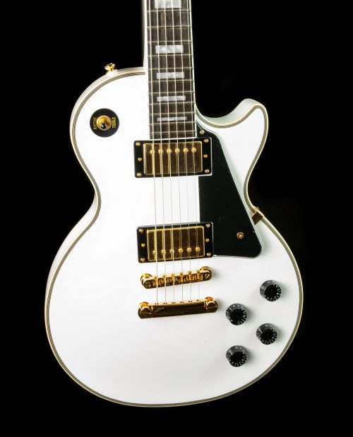Epiphone Les Paul Custom Pro in Alpine White