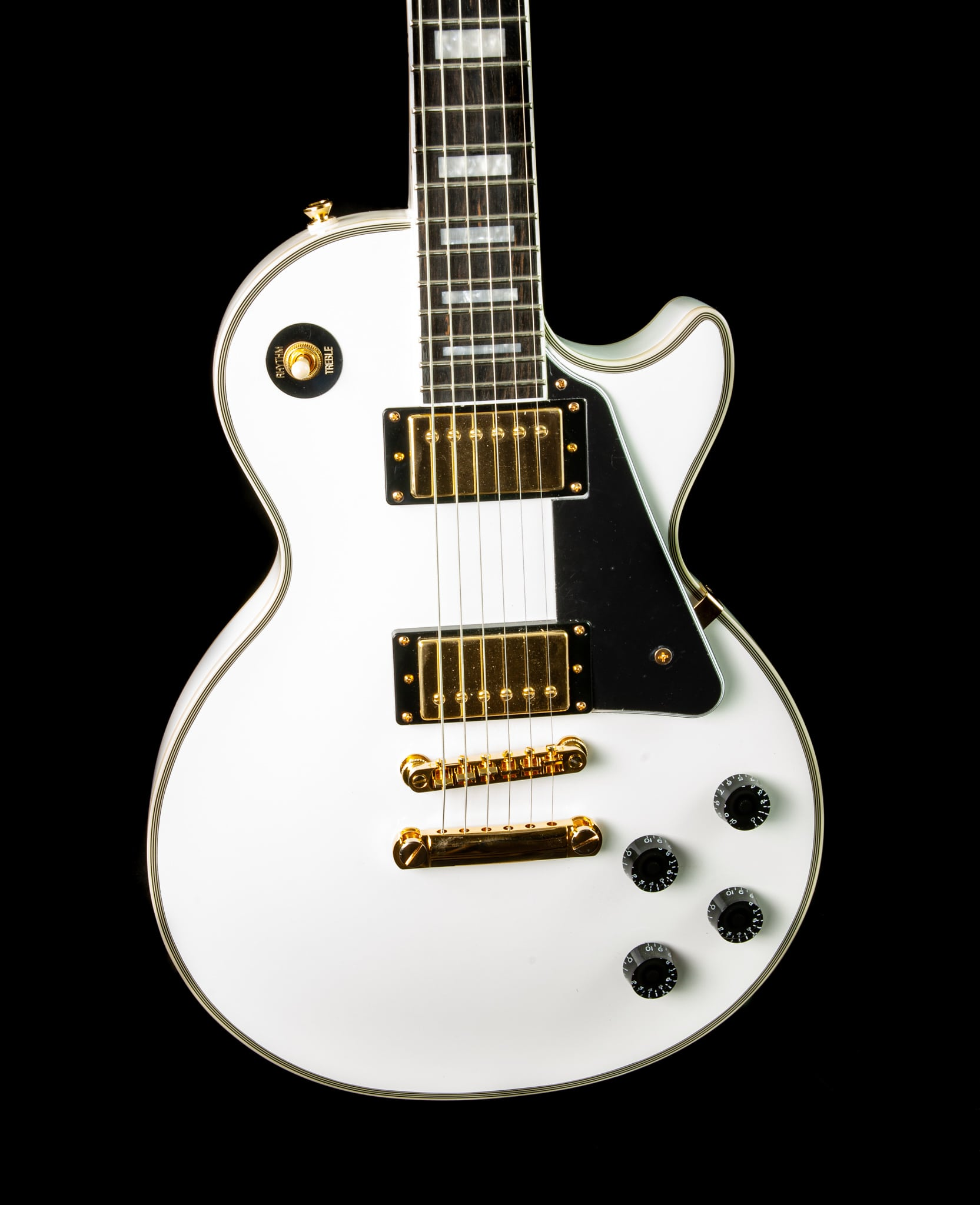 Epiphone -Inspired by Gibson- Les Paul Custom in Alpine White