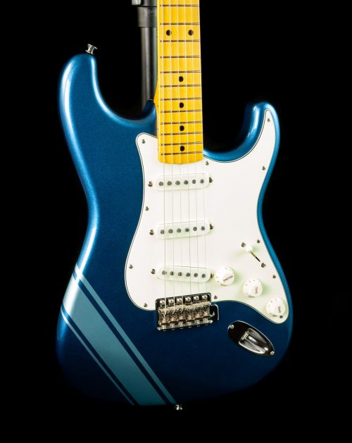 Fender FSR Traditional '50s MIJ Stratocaster in Lake Placid Blue w/ Competition Stripe