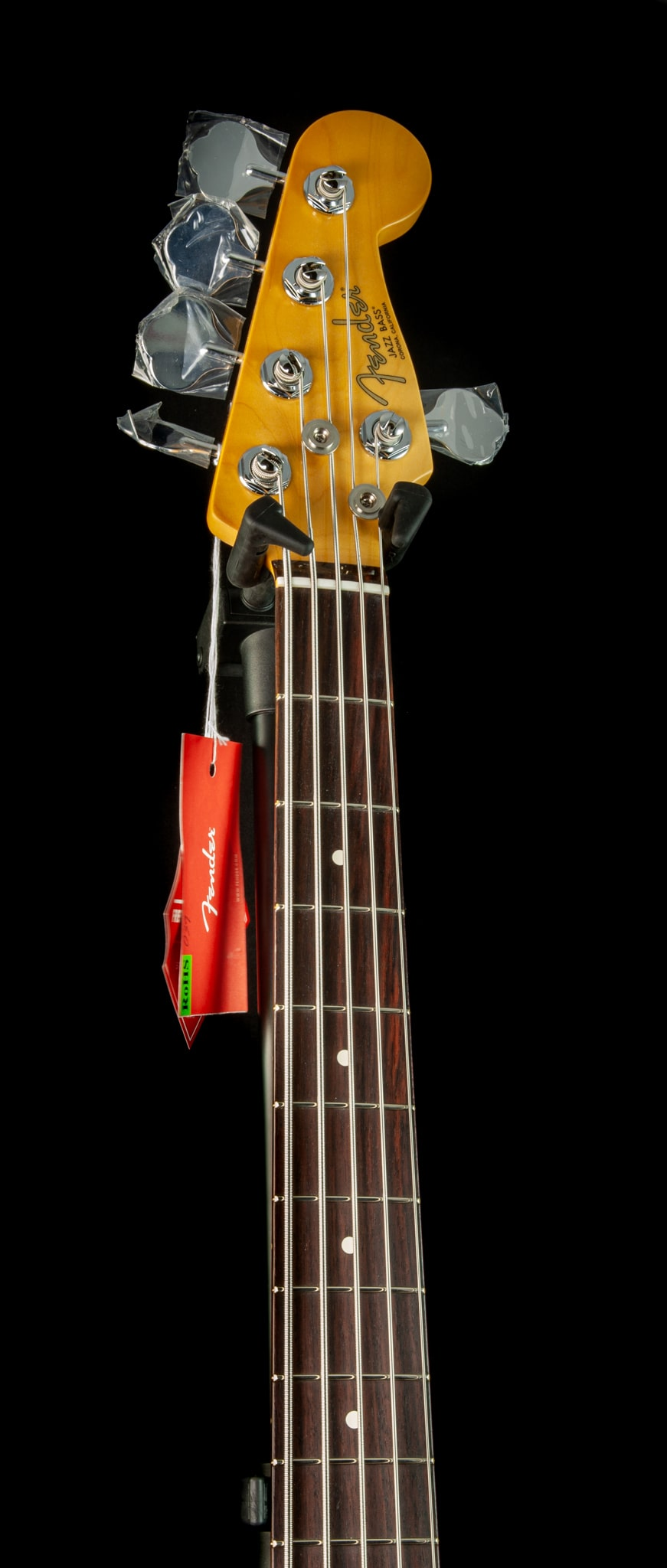 Fender American Professional II Jazz Bass V in Olympic White