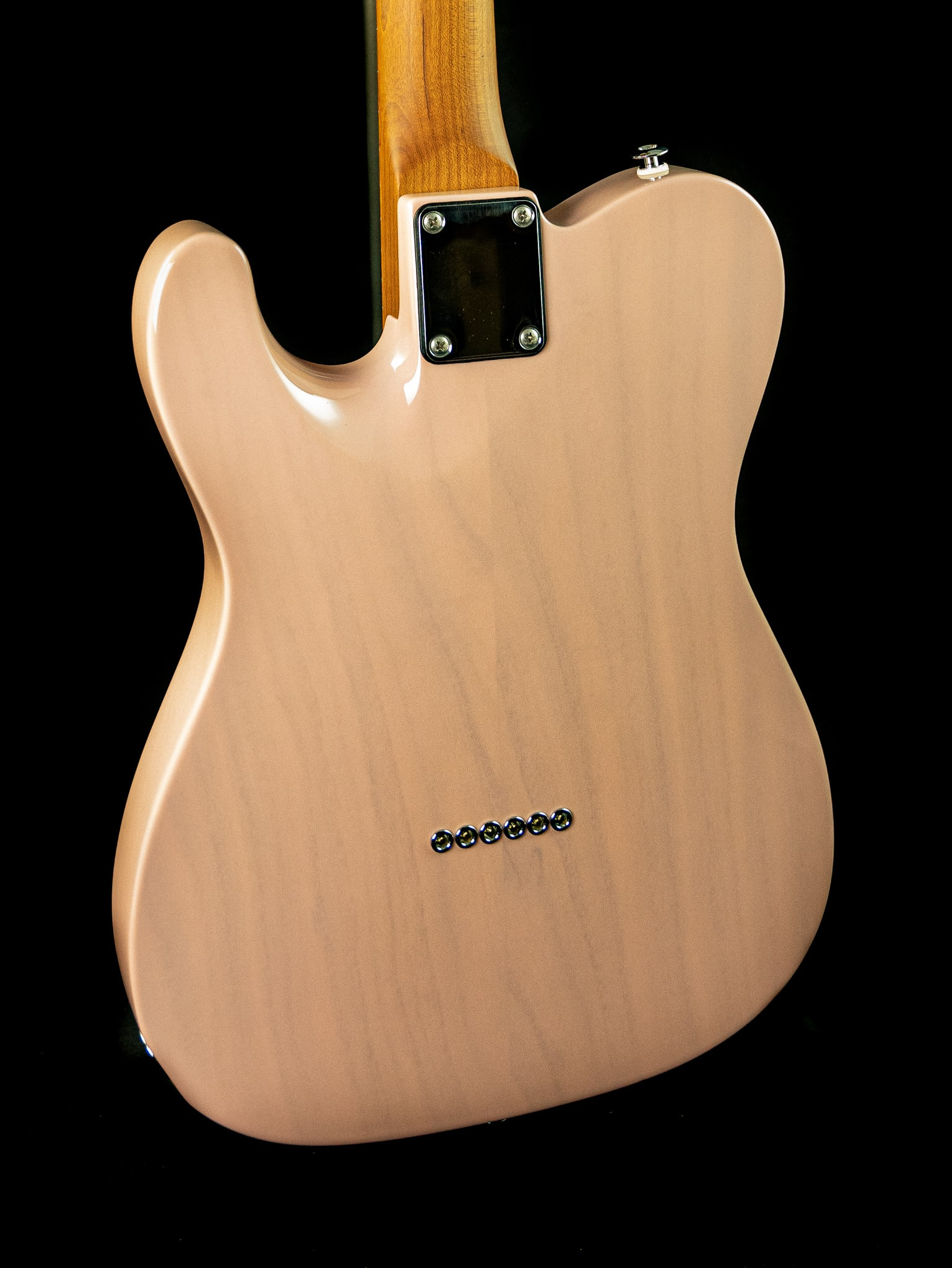 Suhr Classic T Paulownia in Trans Shell Pink