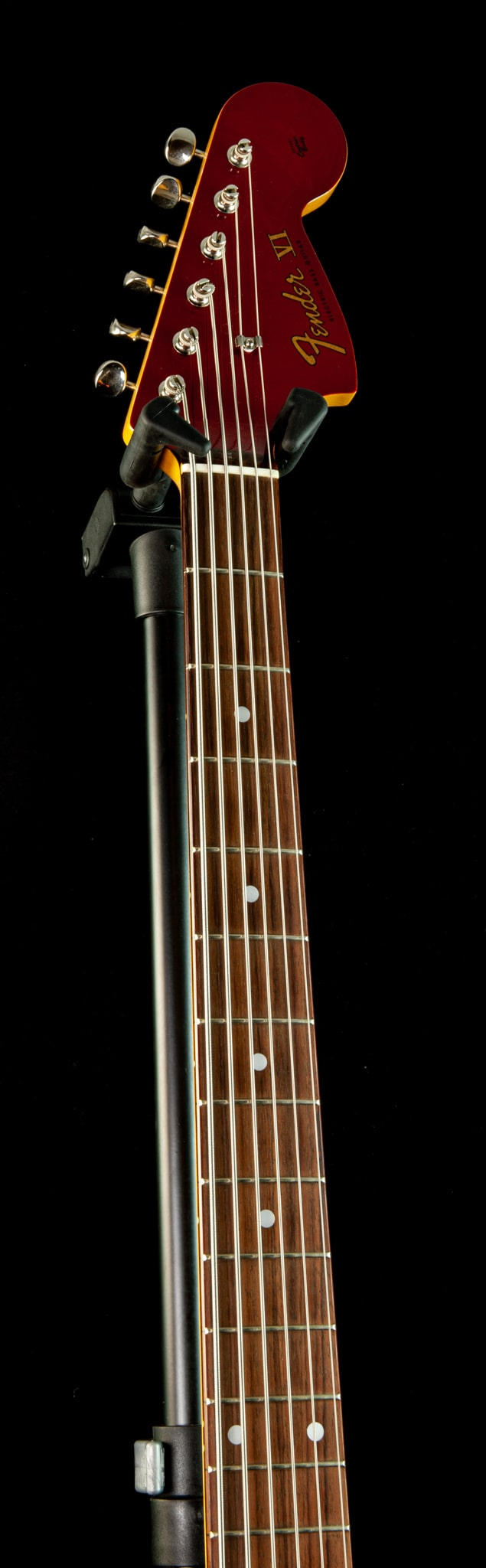 Fender - 2013 - MIJ Bass VI in Candy Apple Red