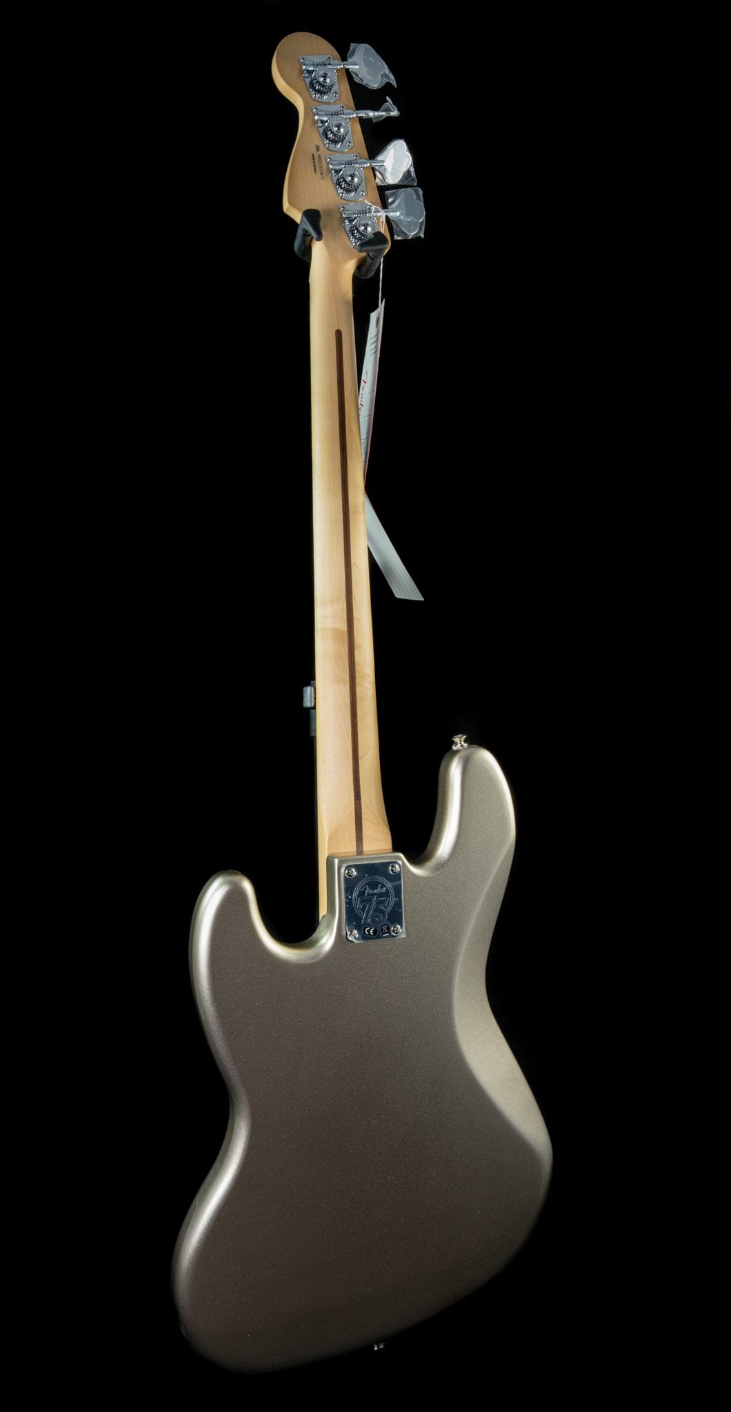 Fender 75th Anniversary Jazz Bass in Diamond Anniversary