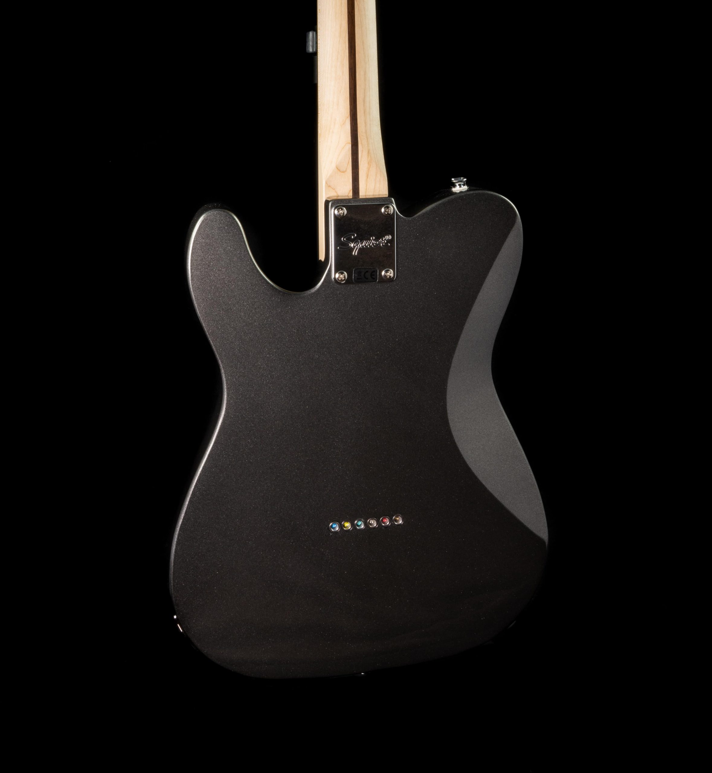Squier Affinity Series Telecaster Deluxe in Charcoal Frost Metallic